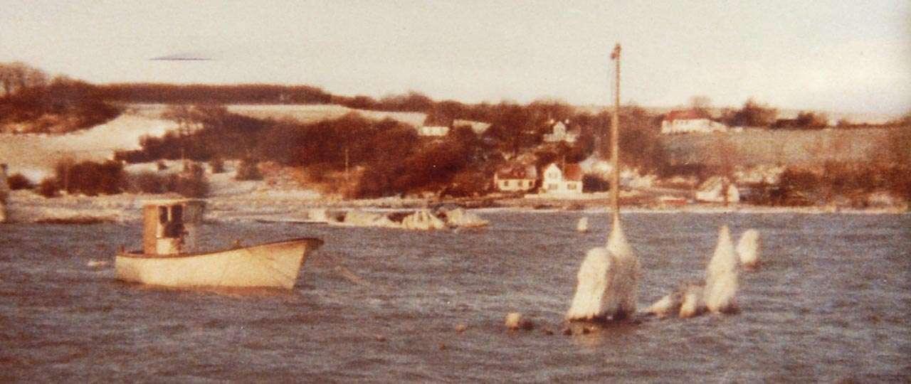 Bundgarnsfiskeriet ud for Kalvø og Genner Bugt